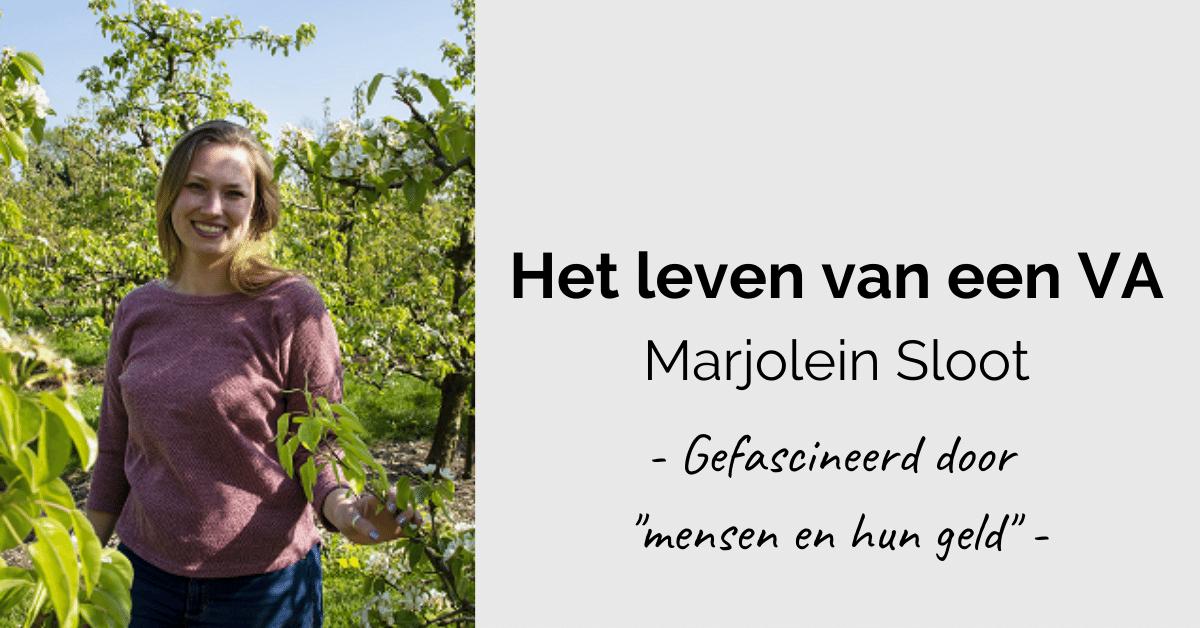 Leven van een VA - header Marjolein