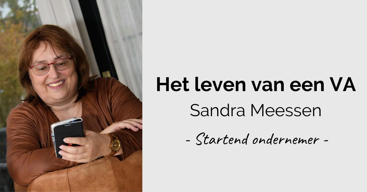 Leven van een VA - header Sandra 2