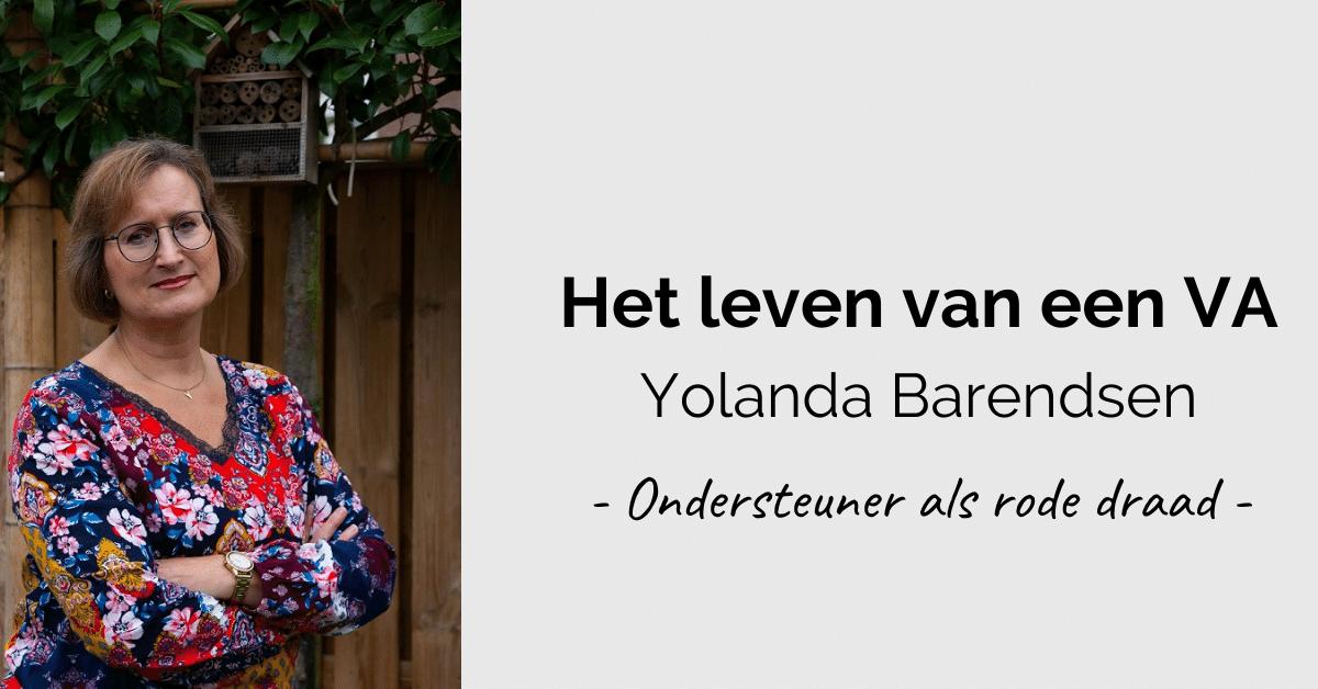 Leven van een VA - header Yolanda
